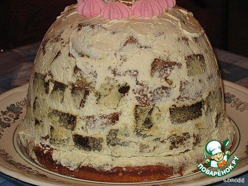 """Торт """"Барби"""" простой рецепт приготовления с фото #5"""