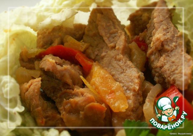 Фахитос курицей рецепт с пошагово