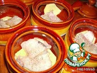 Уха по-татарски в горшочках ингредиенты
