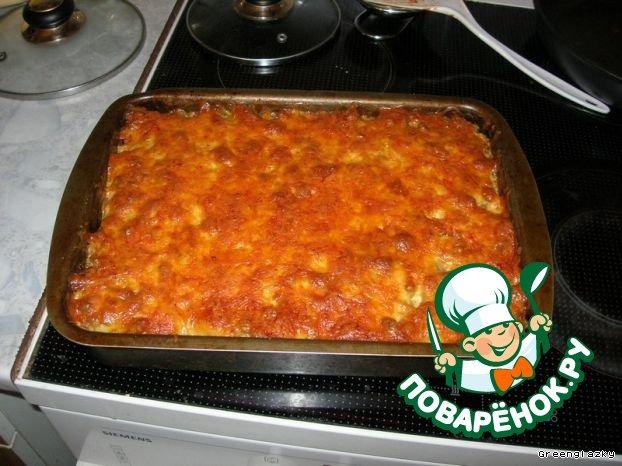 Картофельная запеканка с фаршем рецепт с фотографиями пошагово как готовить #9