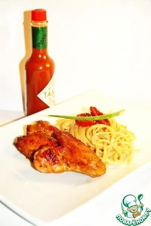 Рецепт Куриные крылья в восточном стиле в кисло-сладком соевом соусе