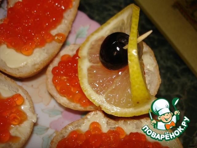 """Как приготовить Бутерброды """"Кораблики с икрой"""" простой рецепт приготовления с фото пошагово #6"""