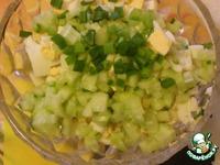 Салат из яиц с колбасным сыром ингредиенты