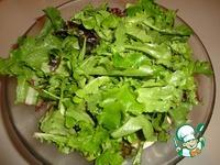 Салат с соусом песто ингредиенты