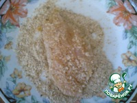 Филе курицы в панировочных сухарях ингредиенты