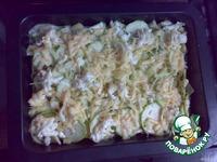 Запеканка из картошки и кабачков ингредиенты