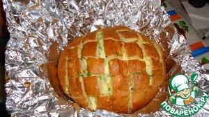 Рецепт Вариант подачи хлеба с сыром и чесноком