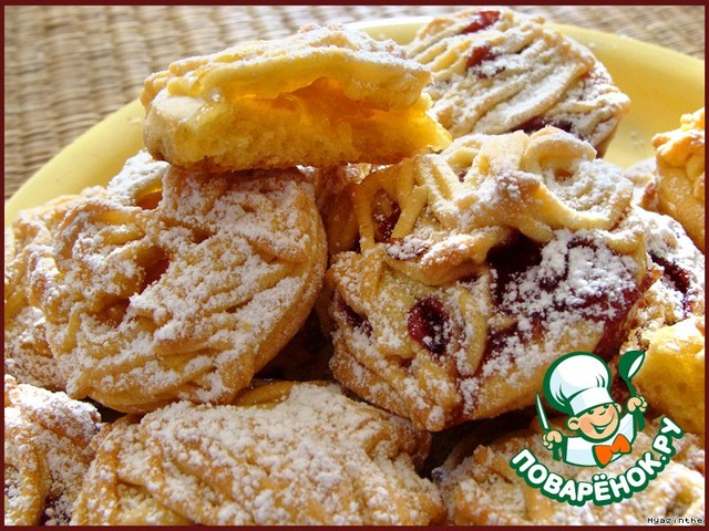 Пошаговый рецепт печенья макароны с