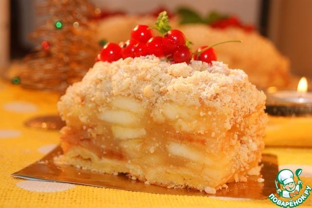 Венский пирог с яблоками рецепт пошагово в духовке