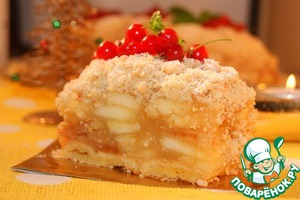 Рецепт Венский яблочный пирог по рецепту К. Шумахера