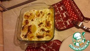 Рецепт Картофельный гратан