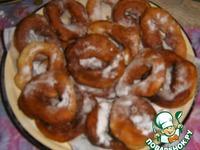 Пончики воздушные ингредиенты