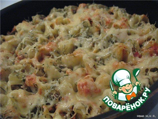 """Запеченные """"Ракушки"""" домашний рецепт приготовления с фото пошагово #9"""