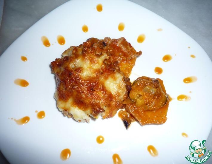 Рецепт: Мусака с картофелем и баклажанами
