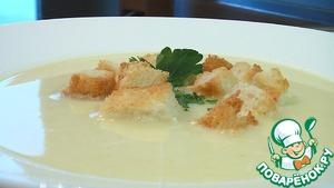 Рецепт Суп-пюре из картофеля