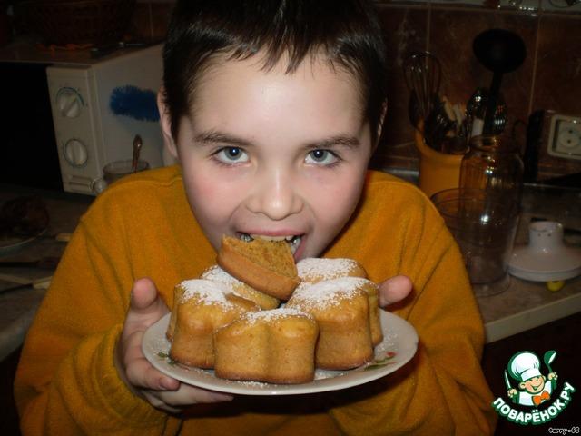 кексики рецепт пошагово с фото в духовке