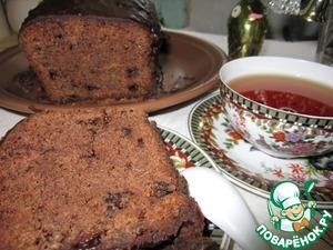 Рецепт Пряный рождественский кекс черносливом и миндалем
