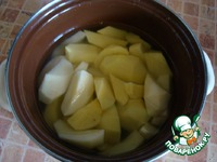 Картофельное пюре по-царски ингредиенты
