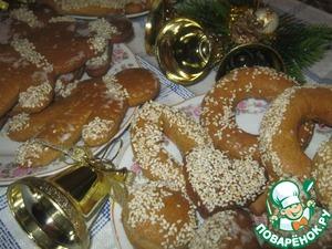 Рецепт Вкусные ароматные печенья-прянички