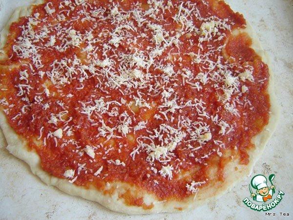 Пицца овощная рецепт с фото #7