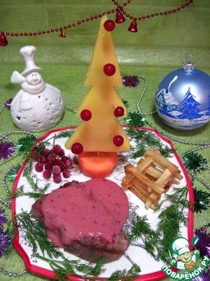 Рецепт Свинина под соусом из красной смородины