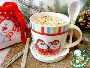 Рецепт Горячий белый шоколад с корицей и перцем чили