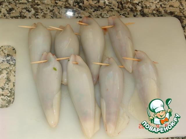 Кальмары замороженный приготовления