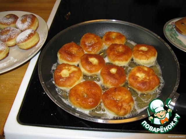 Пончики с сыром рецепт на сковороде