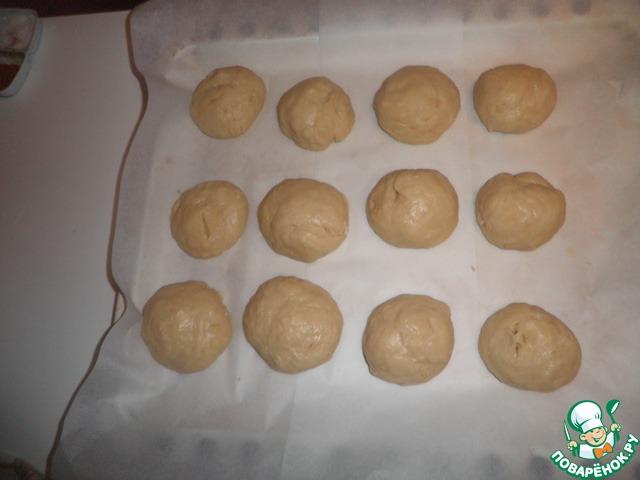 как приготовить булочки с шоколадной подливкой