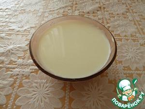 Рецепт Молочное желе