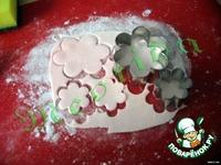 Цветочки-листочки из маршмеллоу ингредиенты