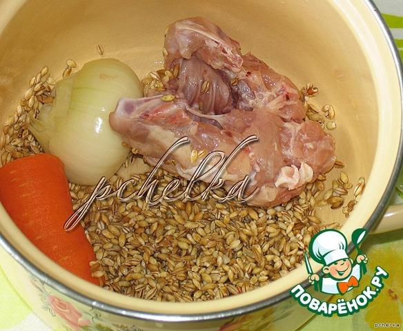 Как приготовить перловку с курицей в духовке
