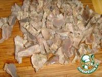 """Желудки куриные с грибами """"Oбъедение"""" ингредиенты"""