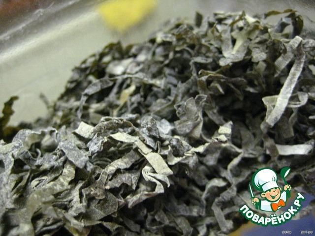Как мариновать сухую морскую капусту в домашних условиях
