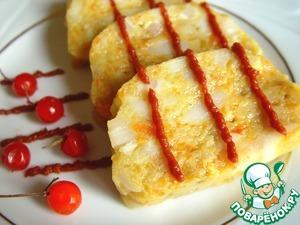 Рецепт Рыбная колбаса на пару