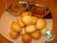 Греческие пончики ингредиенты