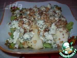 Рецепт Легкий ореховый салат