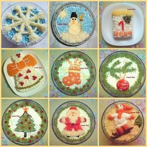 Варианты новогоднего оформления знаменитого салата