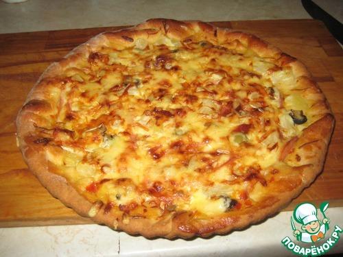 Тесто для пиццы без дрожжей Рецепты. Как приготовить тесто 96