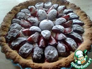 Как приготовить Сливовый пирог домашний пошаговый рецепт с фото