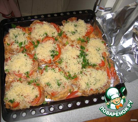 Свинина с баклажанами и помидорами - пошаговый рецепт
