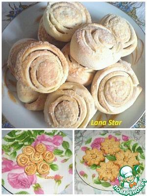 Рецепт Вкусное печенье в разных вариантах оформления