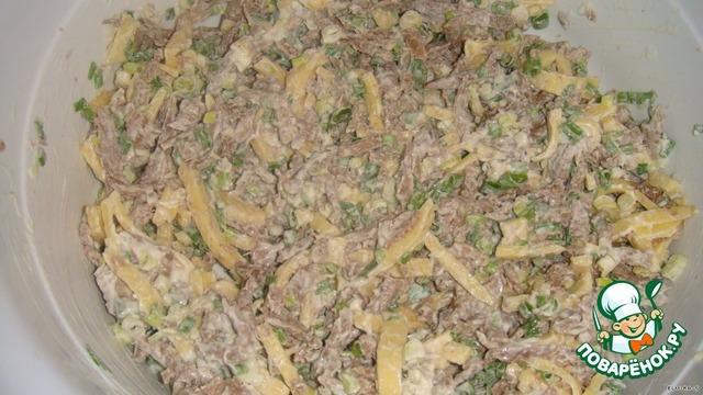 Салат мужские слёзы с курицей рецепт