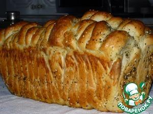 "Рецепт Сербский хлеб ""Погачице"" на топленом молоке"