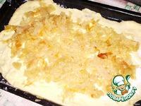 Картофельный рулет с капустой ингредиенты