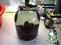 Компот из вишни ингредиенты