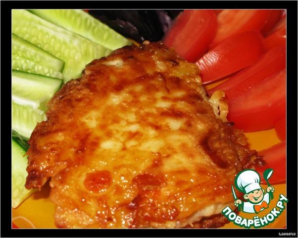 Рыба в кляре из картофеля рецепт