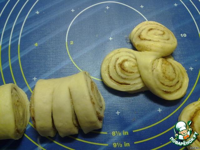 Как сделать булочки из дрожжевого теста с сахаром