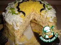 Салатный тортик ингредиенты