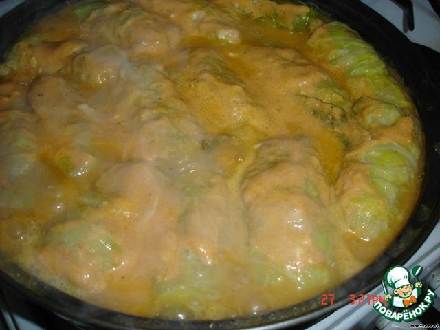 Рецепт голубцов пошагово с без томатной пасты